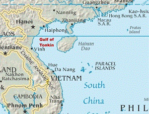 Map Of Asia Gulf Of Tonkin.Economic Cooperation Forum Held Despite Tensions In The South China