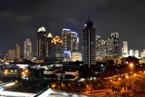 Stadt Indonesien