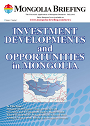 Mongolia Investment Developments and Opportunities in Mongolia