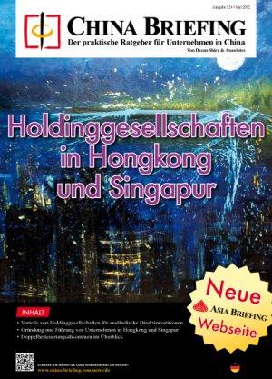 Holdinggesellschaften in Hongkong und Singapur