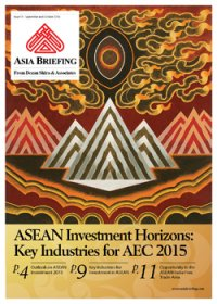 ASEAN Investment Horizons: Key Industries for AEC 2015