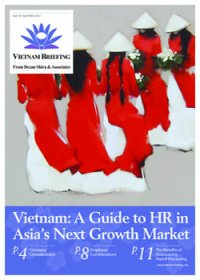 Vietnam: A Guide to HR in Asia's Next Growth Market