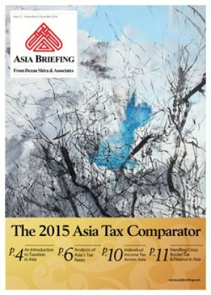 The 2015 asia tax comparator asia briefing bookstore for Chambre de commerce vietnam