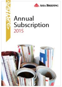 2015 Asia Briefing Annual Subscription