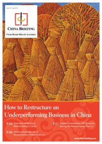 How to Restructure an Underperforming Business in China
