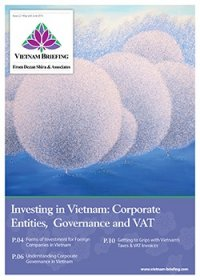 Investing in Vietnam: Corporate Entities, Governance and VAT