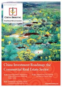 China Investment Roadmap: the Commercial Real Estate Sector