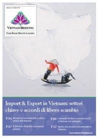 Import & Export in Vietnam: settori chiave e accordi di libero scambio